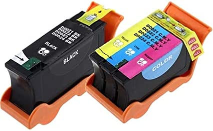Black//Color Series 21 GRMC3//XG8R3MP SuppliesMAX Compatible Replacement for Dell P513//P713//V313//V515//V715W Inkjet Combo Pack