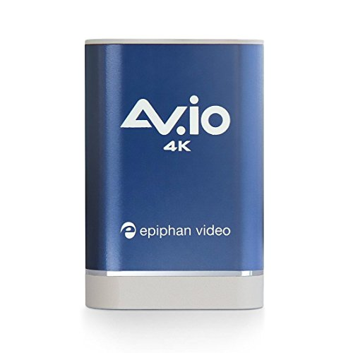 AV.io 4K - Grab and Go USB video capture for HD 1080p 60 fps and UHD 4K 30 fps by Epiphan Systems Inc.