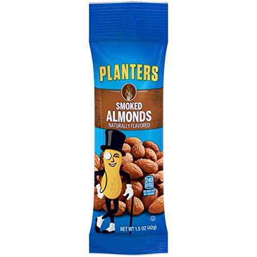 Planters Almonds, Smoked & Salted, 1.5 Ounce Single Serve ...