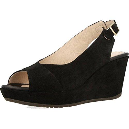 Sandalias y chanclas para mujer, color Negro , marca STONEFLY, modelo Sandalias Y Chanclas Para Mujer STONEFLY MARLENE II 2 VELOUR Negro Negro
