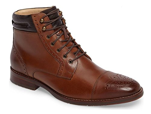 Johnston Murphy Boots (Johnston & Murphy Men's Garner Lace-up Cap Toe Boot Size US 12 M Tan)
