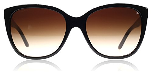 Versace Womens Sunglasses (VE4281) Black/Brown Acetate - Non-Polarized - - Glasses 2016 Versace
