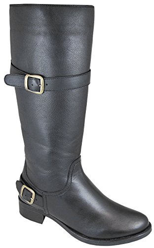 Boots Smoky Mountain Black Rnd Ladies Donna n6Iqf6rw