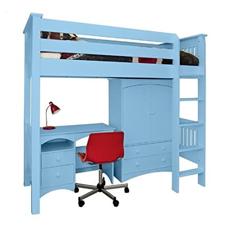 Childrens Bedroom Company Elfin High Sleeper Bed Frame Only Single