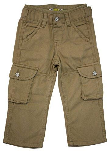 Lee Dungarees Boys' Cargo Pants 2T Khaki (Lee Side Elastic Pants)