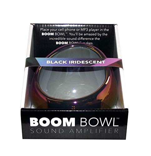 Boom Bowl Smartphone Sound Amplifier