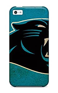 New Style Tpu 5c Protective Case Cover/ Iphone Case - Carolina Panthers by icecream design