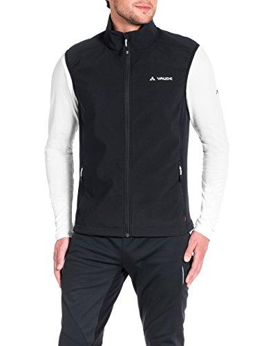VAUDE Herren Weste Brand Vest, Black, L, 06450