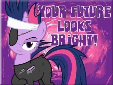 My Little Pony Friendship is Magic Magnet (Twilight Sparkle Future Looks Bright) ()