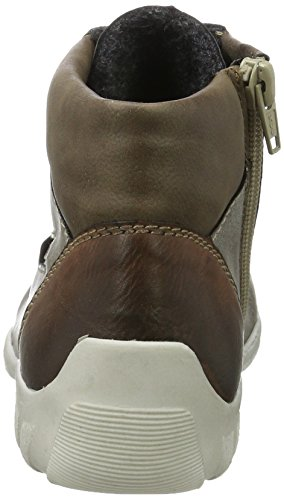 24 Hi Women's Cigar Fango Top Trainers Brown Brandy Rieker L6543 BzgwqCOnE