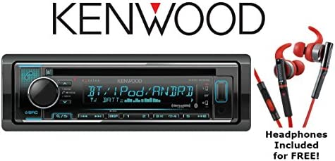 Kenwood eXcelon KDC-X302 CD Receiver with Bluetooth Sport Headphones Included