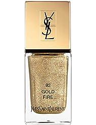 Yves Saint Laurent YSL Dazzling Lights La Laque Couture Nail Polish - 92 Gold Fire