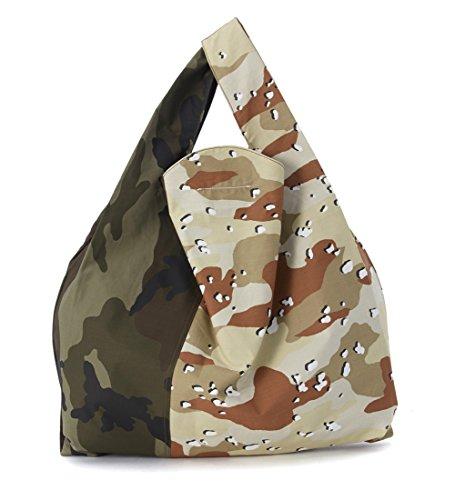 Market Bag MM6 Maison Margiela in tessuto camouflage