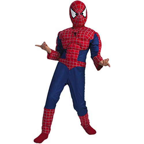 Child's Spiderman Halloween Costume (Size: Large 7-10) (Halloween Costume For One Year Old)