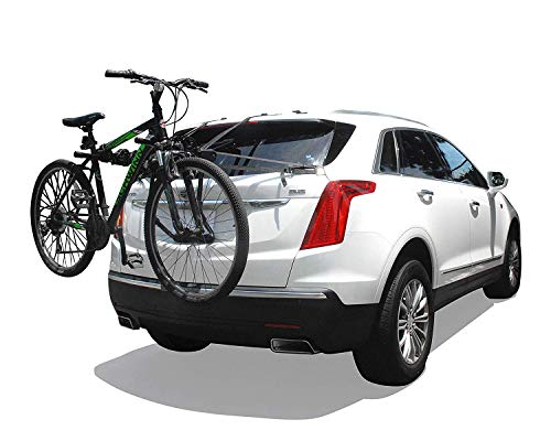 ToughSteel Universal Fordable Bike Rack Carrier Mount 3 Bicycle Rack for Car SUV Truck