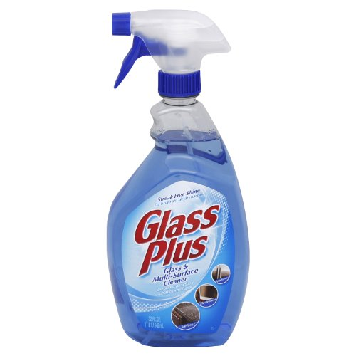 Glass Plus  - Glass & Multi-Surface Cleaner Trigger 32 Ounce.(Pack of 12) (Glass Plus Cleaner compare prices)