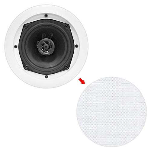 8) New PYLE PRO PDIC61RD 6.5'' 200W 2-Way In-Ceiling/Wall Speaker System White by Pyle Home (Image #7)