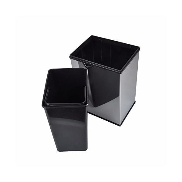 Audrly-Sensore-Pattumiera-7L-Acciaio-Inossidabile-Touchless-Automatico-Cestino-Dei-Rifiuti-Casa-Cucina-Ufficio-Sensore-Cestino-Tavolo-Cestino