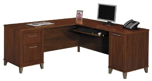 Somerset 71W L-Shaped Computer Desk