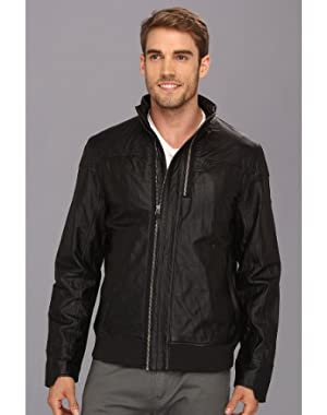 PUMA/FERRARI MENS LEATHER JACKET 2X