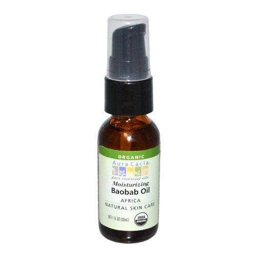 - Aura Cacia Organic Skin Care Oil, Baobab, 1-Fluid Ounce
