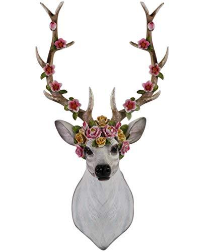 wall decor resin deer - 9