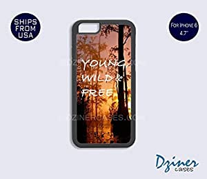 iPhone 6 Case - 4.7 inch model - Forest Young WIld Free iPhone Cover