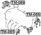 12372-23050 / 1237223050 - Left Engine Mount For