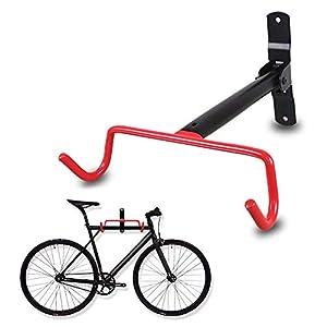 N/P Gancio per Bici da Parete, portabiciclette Pieghevole - Gancio per portabici da Bicicletta per Garage con Viti (1… 3 spesavip