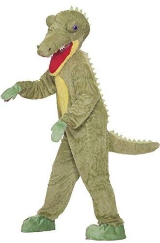 Mememall Fashion Plush Crocodile Mascot Adult Costume (Toddler Crocodile Costume)