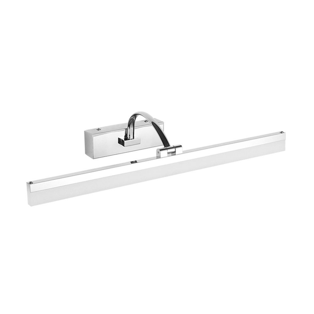 XUERUI LED Lamp, 14W-20W Warm White Bathroom Lights, EMC Driver, 40-70CM X 7CM X 4.5cm, Energy Savin Mirror light (Color : White, Size : 50cm)