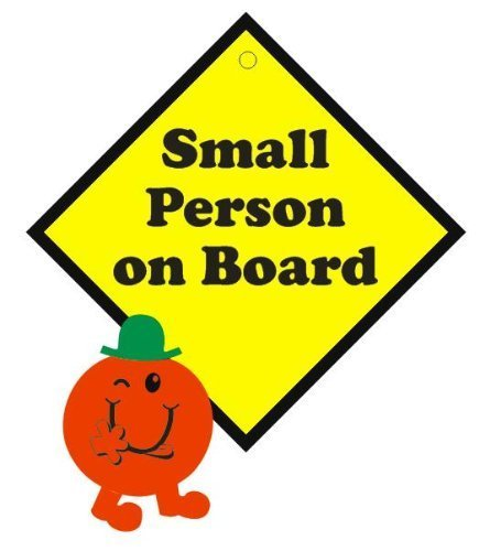 Small Person on Board 3D Car Sign, Baby on Board sign made with thick EVA foam Indigo Worldwide