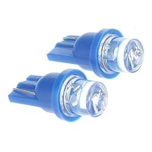 OXOX T10 0.2W Bombilla azul LED para el coche (12V DC, 2 pcs)