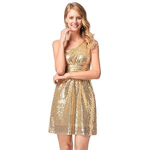 noche FOLOBE la mujer vestido de fiesta de vestido lentejuelas A de nwwrqRY1