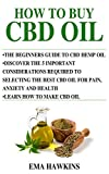 HOW TO BUY CBD OIL: 5 Important Considerations