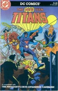 The New Teen Titans Drug Awareness Giveaway #2