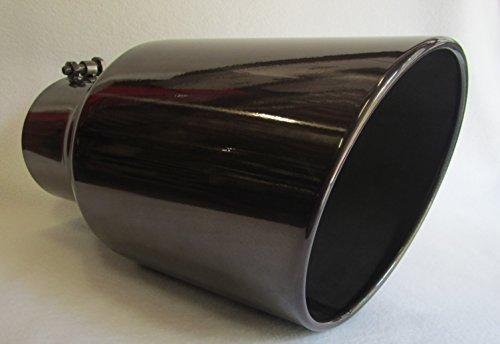 5 tip exhaust black chrome - 1