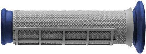 (Renthal Dual-Compound Half-Waffle ATV Grips ATV Diamond/Waffle G170)