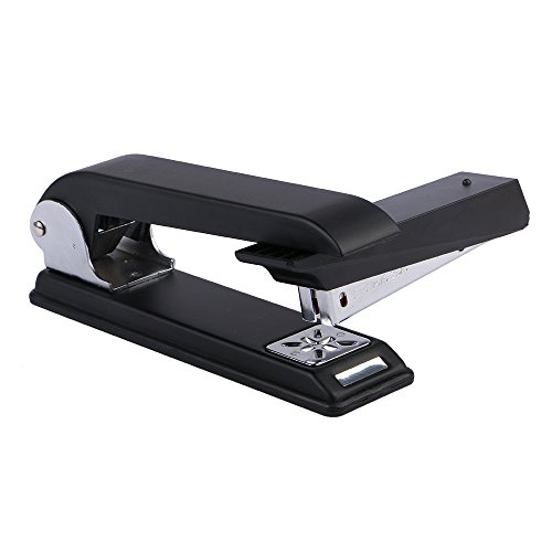 Eagle Swing-Arm Swivel Stapler, 12 Sheet Capacity, Specialized For Booklet Stapling, Black