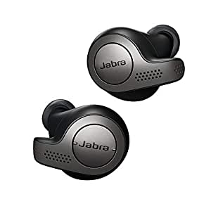 Jabra Elite 65t Alexa Enabled True Wireless Earbuds with Charging Case – Titanium Black