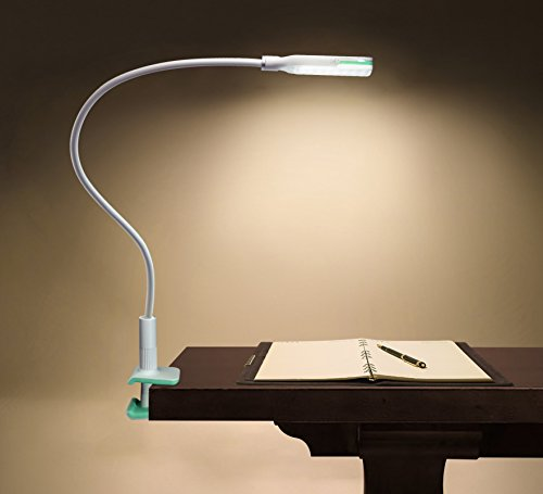 CTA Digital 2-in-1 Flexible Desk Clamp LED Lamp & Mount (PAD-FDC) by CTA Digital (Image #1)