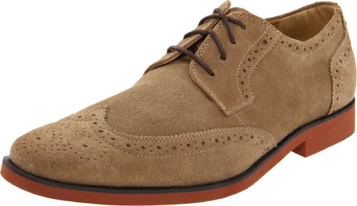 Stacy Adams Men's Telford Oxford,Sand Suede,9.5 M US