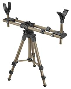 Caldwell DeadShot FieldPod Adjustable Ambidextrous Rifle Shooting Rest for Outdoor Range and Hunting