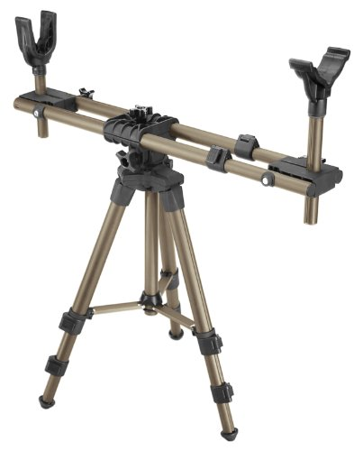 Caldwell DeadShot FieldPod Adjustable Ambidextrous Rifle Shooting Rest for Outdoor