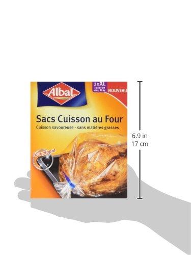 Albal Horno Asar Bolsas XL PCB 20 - Paquete de 3: Amazon.es ...
