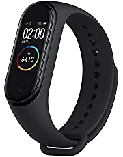Xiaomi Mi Band 4 Smart Fitness Tracker Bracelet, 0.95 '' OLED Color Touch Screen, 5 ATM Water Resistant, Bluetooth 5.0 with Heart Rate Monitor, Measures Calories .Black