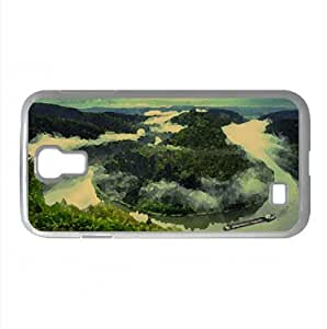 Saar River Watercolor style Cover Samsung Galaxy S4 I9500 Case (Germany Watercolor style Cover Samsung Galaxy S4 I9500 Case)
