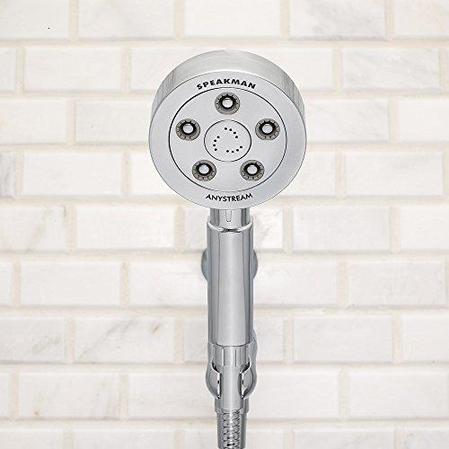 Speakman VS-3010 Neo Anystream High Pressure Handheld Shower Head with Hose, Polished Chrome