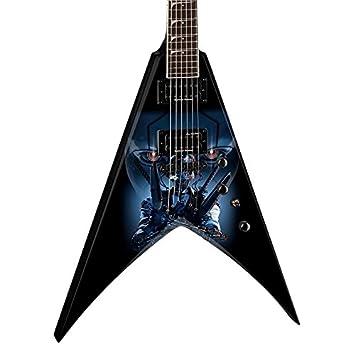 Dean Dave Mustaine VMNT guitarra eléctrica, terminada: Amazon.es: Instrumentos musicales