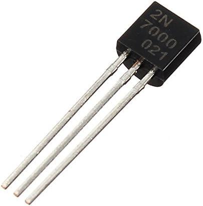 LaDicha Interruptor R/ápido Mosfet del Transistor del N-Canal 50Pcs 2N7000 A-92